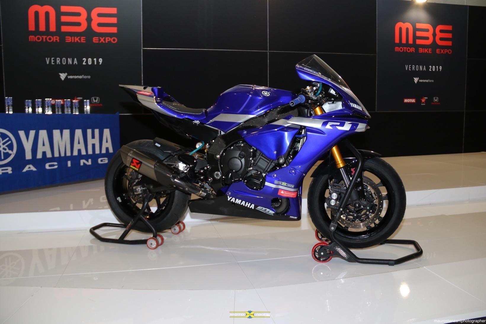 Al Motor Bike Expo Si E Aperto Il Sipario Sul Trofeo Yamaha R1 Cup 2019